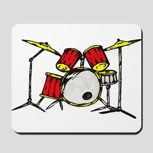 Drum Set Mousepad